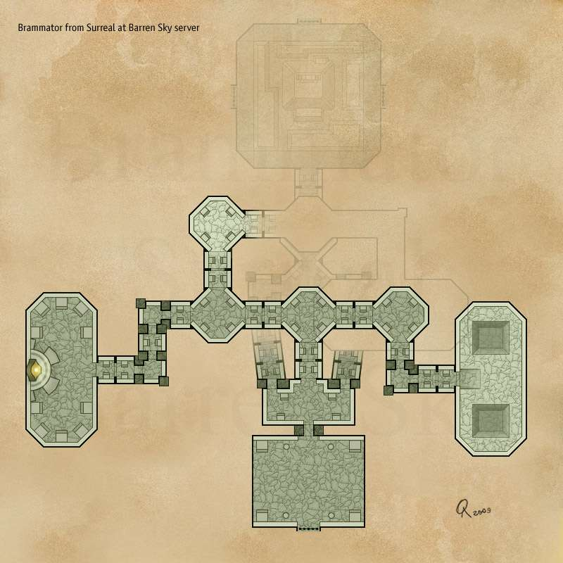 EQ2MAP - Ruins of Guk: Ykesha\'s Inner Stronghold 2