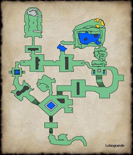 EQ2MAP - The Ruins of Guk: Halls of the Fallen