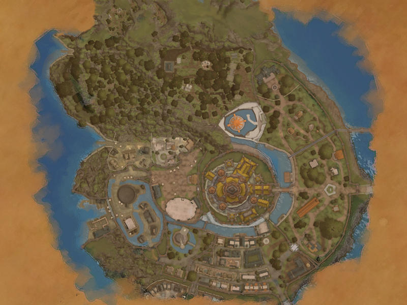 EQ2MAP - Qeynos Capitol District